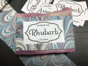 Annabella & Co. Soap Rhubarb