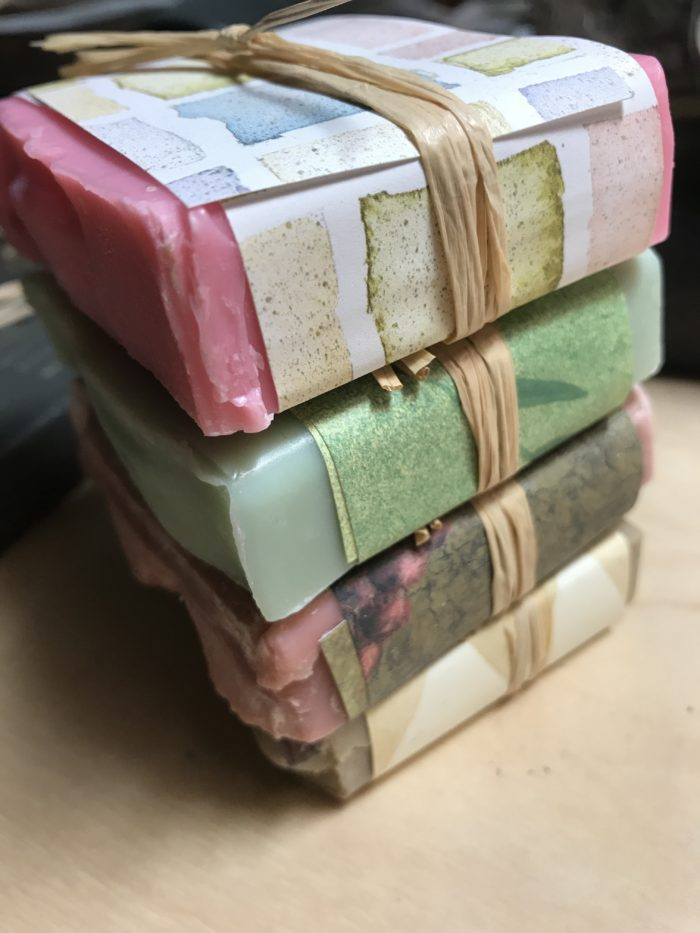 Luxury Soap Stack Papers